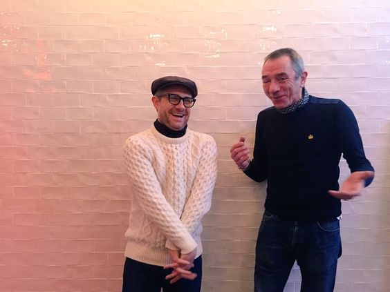 Martin Freeman & Eddie Piller presents Jazz On The Corner #Jazz #EddiePiller #MartinFreeman (this is seriously the cutest picture of Martin I have ever seen. and that's saying something!)