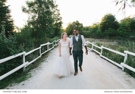 Katie & Gilbert: Old Mac Daddy joy | Real weddings | The Pretty Blog