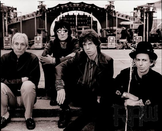 Rolling Stones, Mick Jagger, Keith Richards, Charlie Watts, Ron Wood