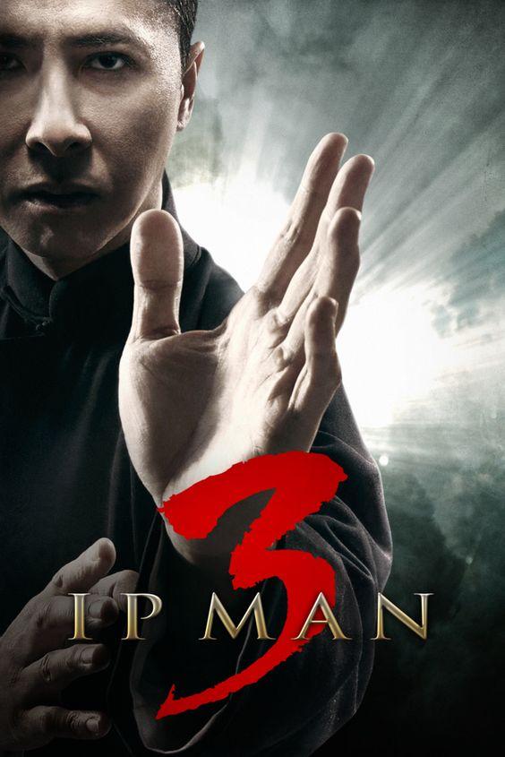 Ip Man 3 Movie Poster - 甄子丹, Mike Tyson, Lynn Xiong  #IpMan3, #MoviePoster, #ActionAdventure, #LynnXiong, #MikeTyson