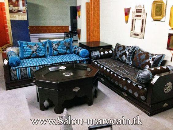 salon marocain chic et moderne - Salon Chic Et Moderne