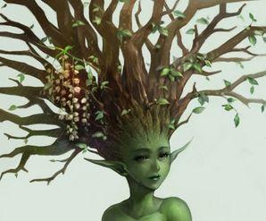 """Tutte le bestie del mio giardino Racconto: """"I segreti della donna albero"""" http://tinyurl.com/p9e9sje"""
