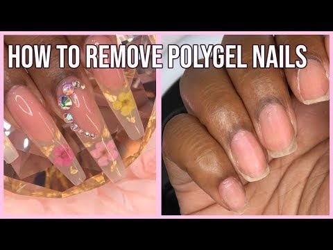 Polygel Nails How To Remove Polygel Nails Gelish Polygel Youtube Polygel Nails Nails Gelish Nails