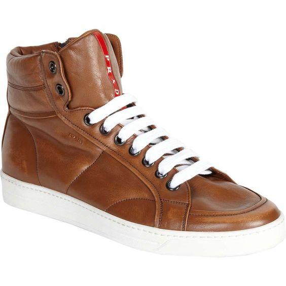 prada cost - Love the Prada High Top Sneakers on Wantering | Sneaks and Kicks ...