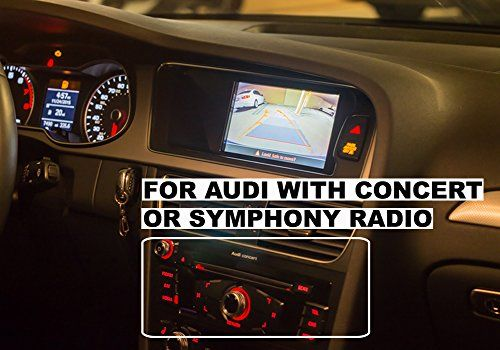 Cheap 2008 2016 B8 Audi A4 Audi A5 Audi Q5 Allroad Avant With Concert Or Symphony Radio Rear View Backup Came Wireless Backup Camera System Audi Backup Camera