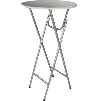 bistrotisch stehtisch klappbar mit mdf platte 60 cm k che haushalt kitchen. Black Bedroom Furniture Sets. Home Design Ideas