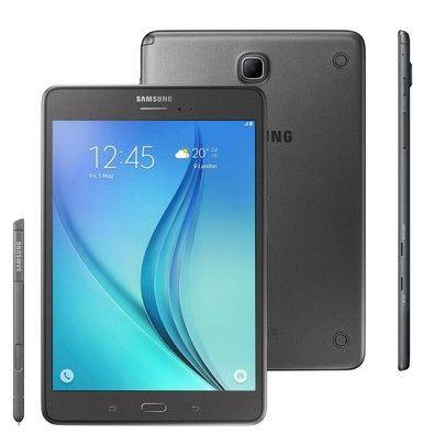 KaBuM! - Tablet Samsung SM-P355M Galaxy TAB A 8.0´ Wi-Fi + 4G 16GB Android 5.0 Quad-Core Grafite R$ 1400