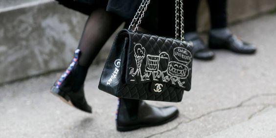 het meest opvallende schoeisel gespot op straat tijdens de coutureweek in Parijs