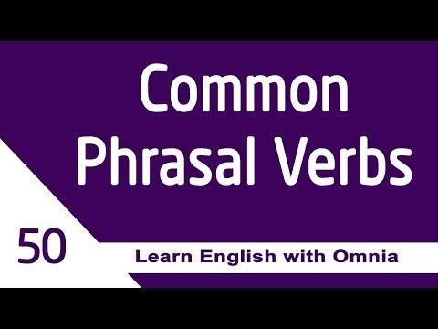 تتكون الافعال المركبة في اللغة الانجليزية من فعل و حرف جر أو حالa Phrasal Verb Is A Verb With A Preposition Or An Adverbverb Prep Learn English Verb Learning