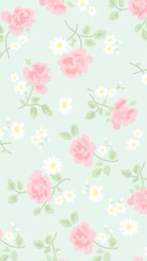pastel floral wallpaper these - photo #48