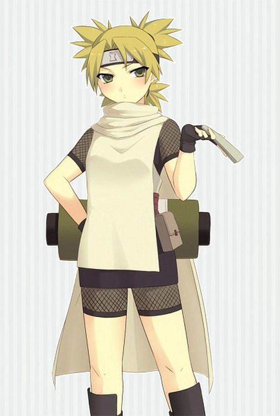Temari (テマリ, Temari) is a major supporting character of the series. She is a jōnin-level kunoichi of Sunagakure and one of the three Sand Siblings.