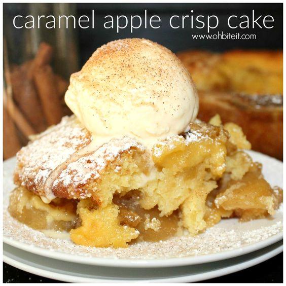 Apple crisp, Caramel apple crisp and Caramel apples on Pinterest