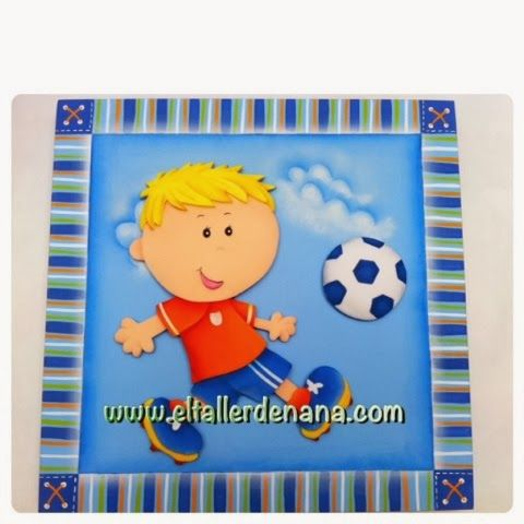 Niño fútbol