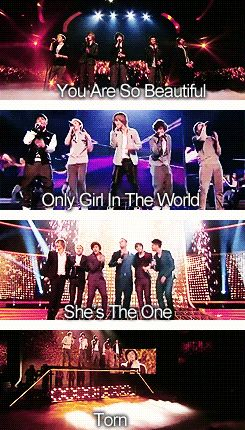 I love all of these songs when they sing them so much!