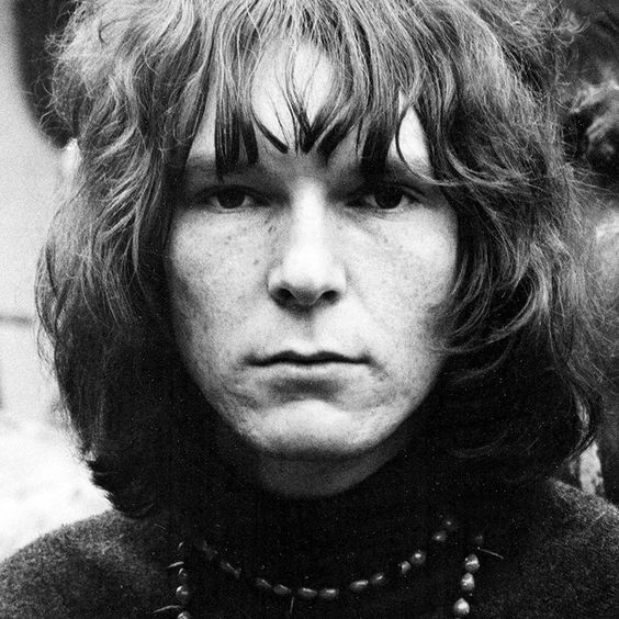 Chris Squire from YES, photographed by David Gahr in Fulham, London, 1969