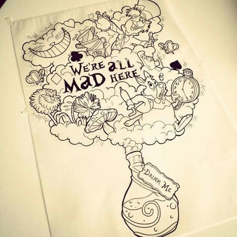 Pin By Samantha Jane On Designs Stencils Templates Ideas Alice And Wonderland Tattoos Alice In Wonderland Drawings Alice In Wonderland Artwork