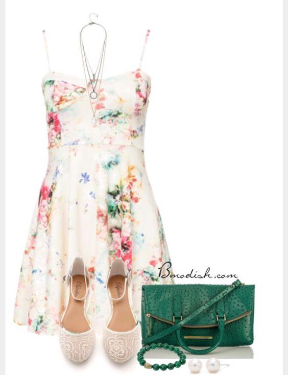 Flower dress-so cute!