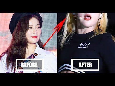 Red Velvet S Seulgi Bleached Her Hair Back To Blonde In Asia Song Festival Her Hair Blonde Songs