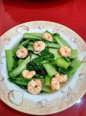 Resep Sawi Sendok Cah Udang Kecap Ikan Oleh Maria Crishtabella Resep Resep Makanan Sehat Makanan Sehat Resep Masakan