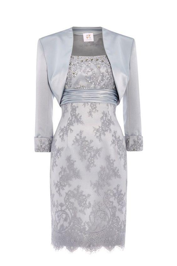 New occasionwear by Anoushka G - Elizabeth in platinum