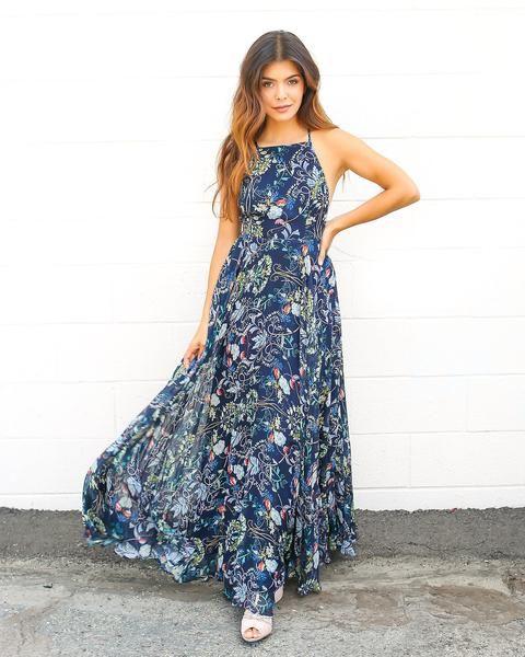 Amalie maxi dress