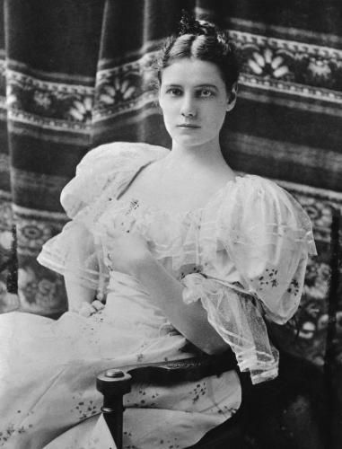 """Lovely picture of Nellie Bly, partial inspiration for """"Into the Lair"""" heroine -- during her Victorian era."""