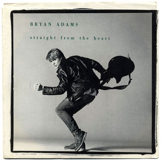 """Straight From The Heart"" - Bryan Adams From ""Cuts like a Knife"""