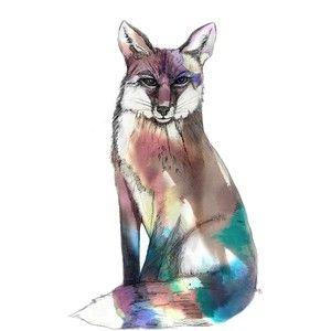Imagination Illustrated - Spirit Fox Art Print