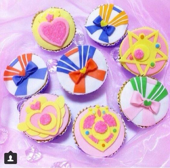 Sailor Moon Cupcakes Sailor Moon Pinterest Sailor