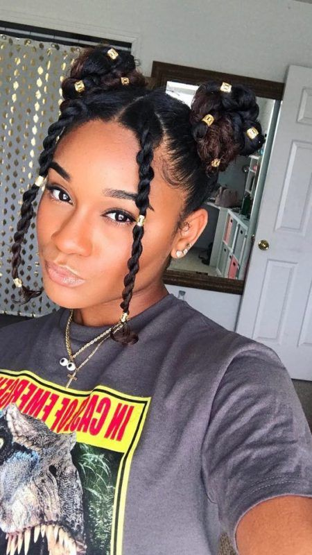 33+ Chunky Natural Black Hairstyles That Will Suit Everyone