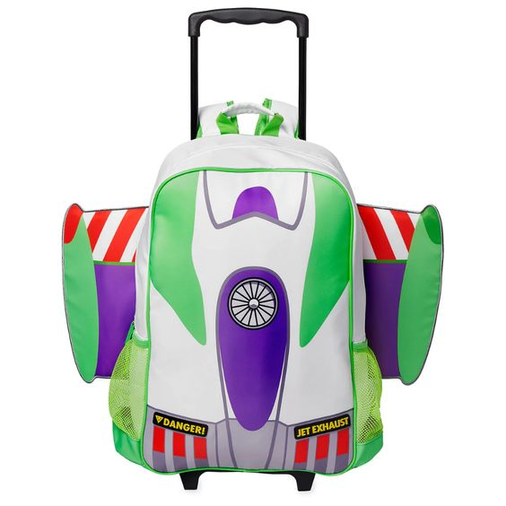 Buzz Lightyear Rolling Backpack - Personalized
