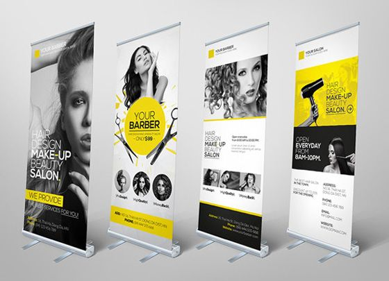 20 creative vertical banner design ideas vendor booth for Kakemono stand