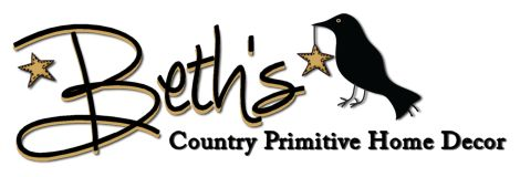 Beth 39 s country primitive home decor primitive pinterest home logos and my house - Beths country primitive home decor ideas ...