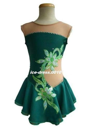 Exclusive Adorable Custom Ice Skating Dress Brand New | eBay