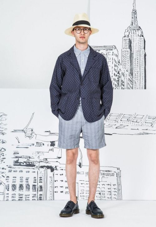 Engineered Garments Spring 17.  menswear mnswr mens style mens fashion fashion style engineeredgarments campaign lookbook