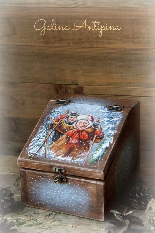 Russian decoupage: