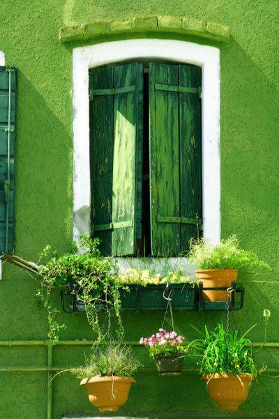 Green, green, green: