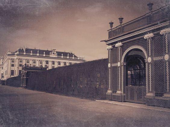 Schönbrunn Palace - Wien by Quijuka Scrap World