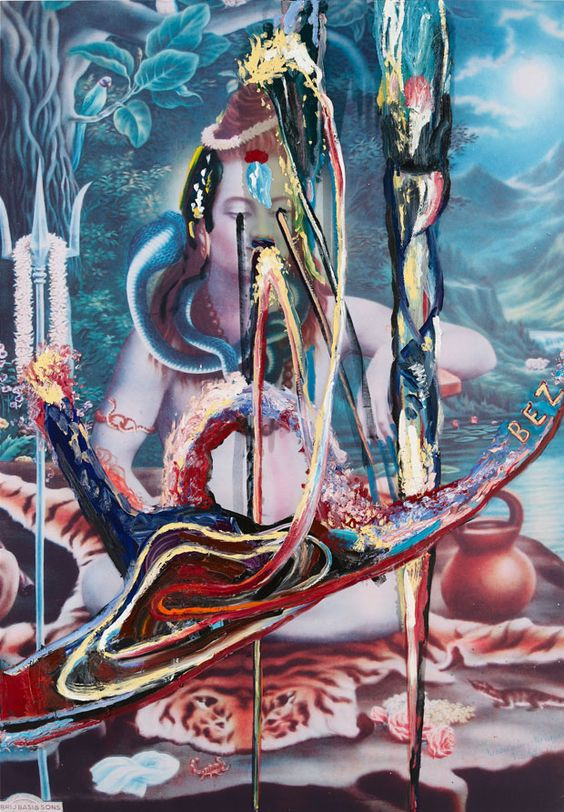 "Julian Schnabel: ""Shiva (BEZ)"", 2011 | © Julian Schnabel; Courtesy Contemporary Fine Arts"