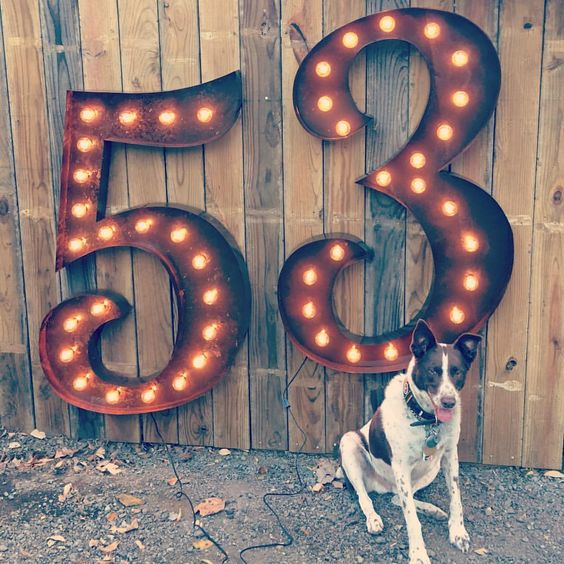 marquee numbers marquee letters lighted signs metal signs vintage marquee numbers