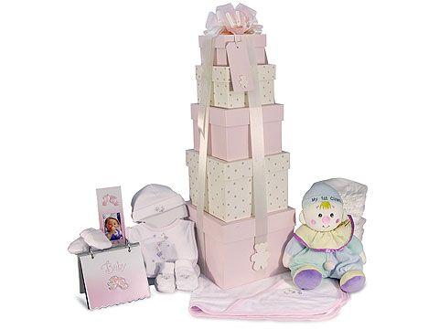 Baby Girl Tower Gift Hamper