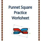 punnett square practice worksheet ngss aligned squares and middle. Black Bedroom Furniture Sets. Home Design Ideas