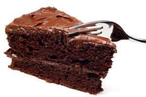 Hungry Girl's Club Soda Chocolate Cake