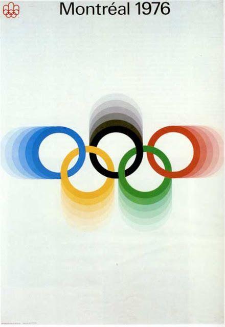 Ernest Roch – Affiche Jeux Olympiques Montréal (1976)