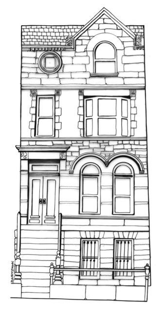coloring pages brownstone - photo#3