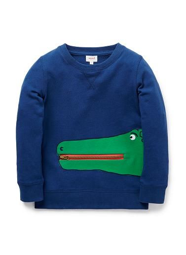 Boys Tops & Tees | Alligator Sweater | Seed Heritage