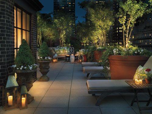 Hudson Hôtel, New York http://www.hudsonhotel.com/en-us/ #Starck #designhotel #hotel #NYC #terrasse