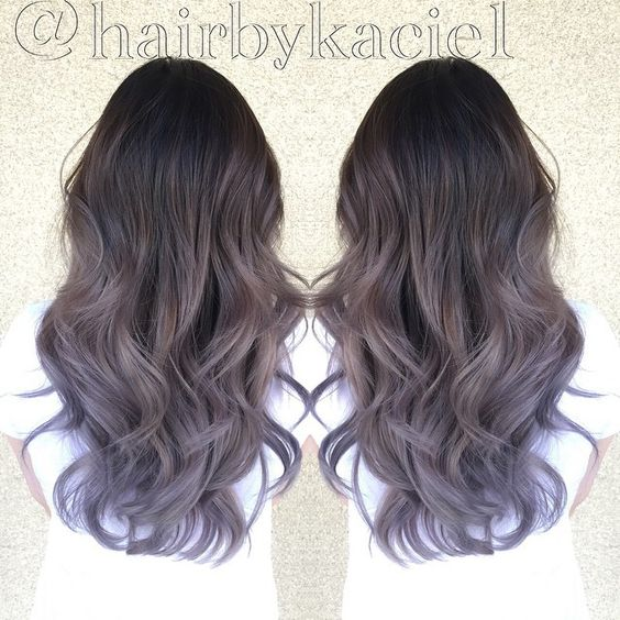 ash pastel and highlights on pinterest