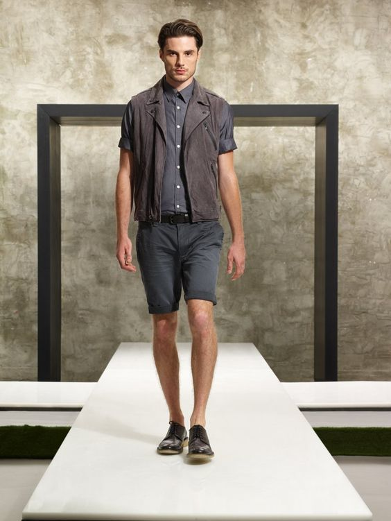 Kenneth Cole S/S 2012 lookbook