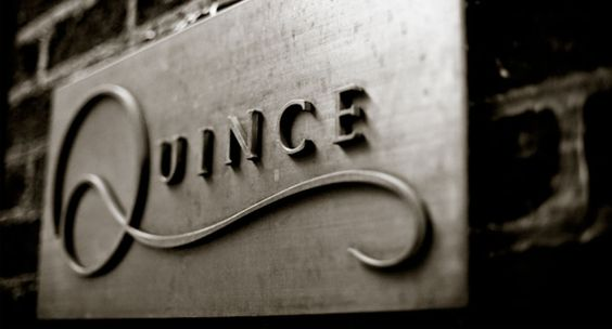 Quince - for lunch    http://quincerestaurant.com/  Jackson Square